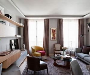 Brazilian Panache Meets Parisian Charm Inside this Chic Modern Apartment