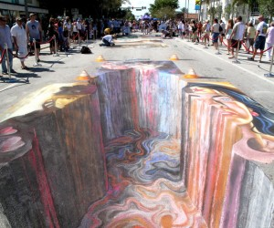 Breathtaking 3D Sidewalk Art To Be Enjoyed By All