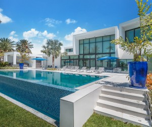 Breathtaking 8.5 Million Waterfront Home in Miami Exudes World-Class Luxury