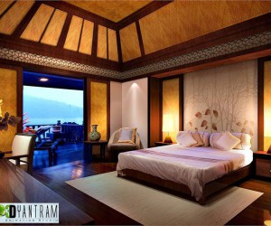 Breathtaking Resort Room CGI design
