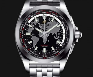 Breitling Introduces Galactic Unitime SleekT Worldtimer Watch
