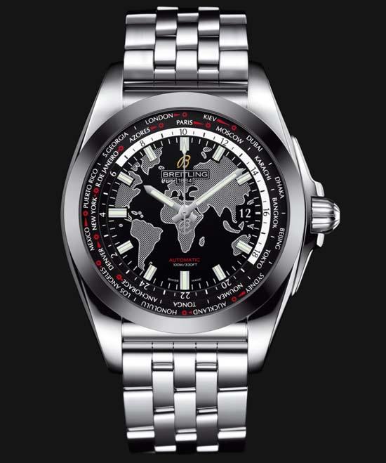 20. Вещь дня: часы Breitling Galactic Unitime SleekT. сегодня в 14:20. GQ Russia