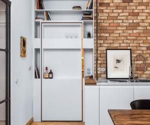 Brew Box Pad apartment by Itay Friedman Architects