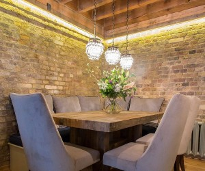 Brick Beauty Chic Converted Warehouse Apartment in Shad Thames