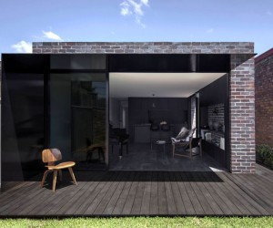 Brick Extension at Llewellyn House