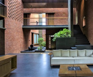 Brick House designed by A for Architecture