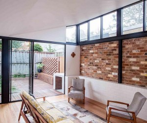 Brick Worker Cottage Renovation in Annandale, Australia