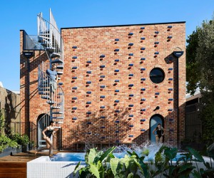 Brickface House in Melbourne by Austin Maynard Architects