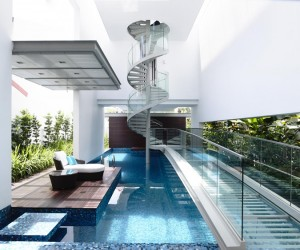 Bridge Over Water Residence in Singapore by HYLA