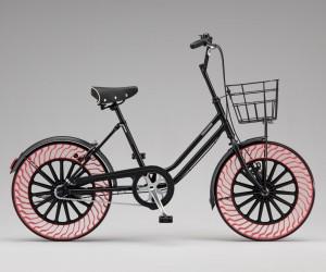 Bridgestone Introduces Air Free Bicycle Tires