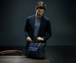 Briefcase that balances formal and informal