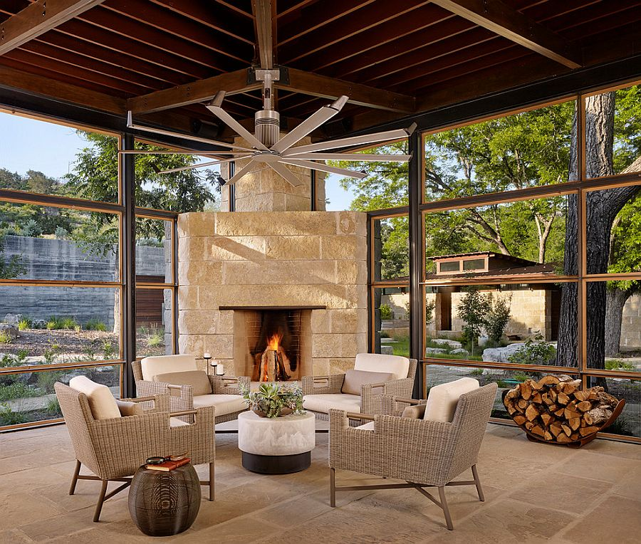 Bright and Beautiful Contemporary Sunrooms