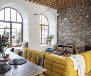 Bright Family Home Designed Behind Historic Faade