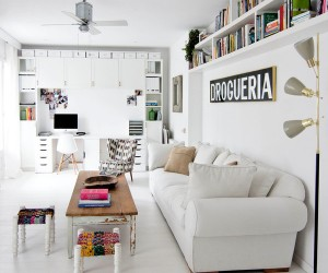 Bright, White and Newly Renovated Apartment in Barcelona