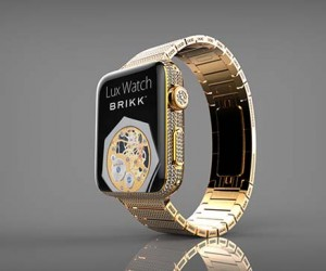 Brikk Unveils A Diamond Encrusted Apple Watch