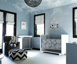 Brilliant Blue Nursery Designs that Steal the Show