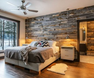 Bring In The Rustic With These 15 DIY Wood Walls