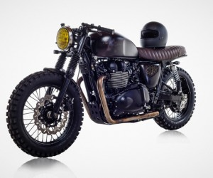 British Customs Unveils Bespoke DBSC Motorcycle for David Beckham