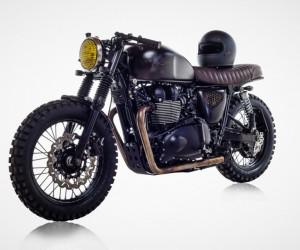 British Customs Unveils Bespoke DBSC Motorcycle for David Beckham