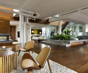 Broadway Penthouse by Joel Sanders