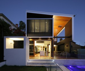 Browne Street House in Brisbane by Shaun Lockyer Architects