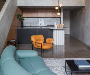 Brutalist Apartment Inspired by a Concrete Bunker