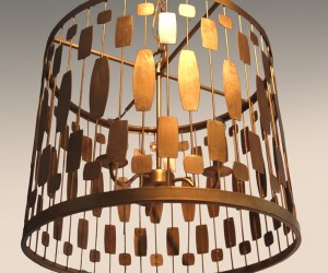 Brutally Gorgeous Pendant Lamp by Omforme
