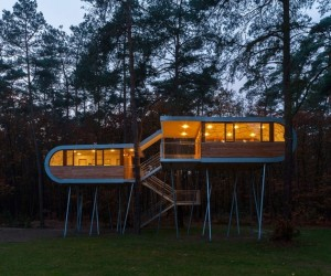 Buamruam  Treehouse in Belgium