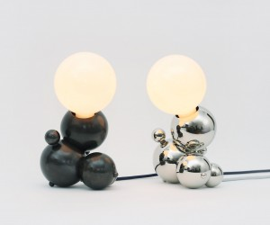 Bubble Shaped Lighting Collection by Rosie Li