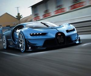 Bugatti Vision Gran Turismo Show Car at Frankfurt
