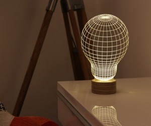 Bulbing: The Optical Illusion Lamp