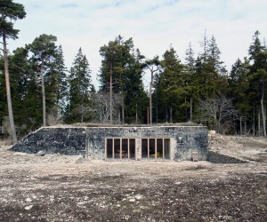 Bunker Conversion in Gotland by Sklso Arkitekter