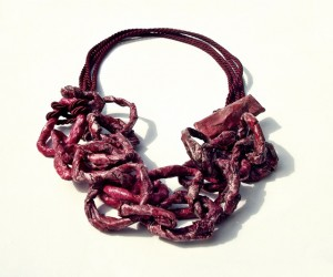 Burgundy Chain by Quasi Caramelle (Almost Candy(