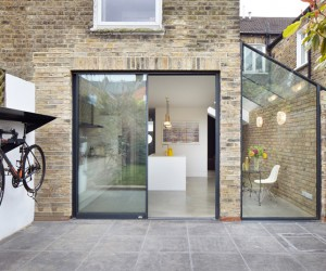 Burrows Road Glazed Envelope by Rise Design Studio