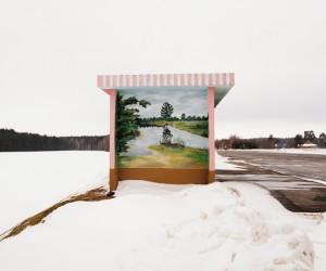 Bus Stop Beauty in Belarus