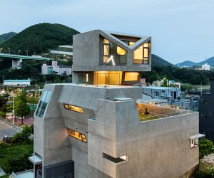 Busan Times House by Moon Hoon  Korea
