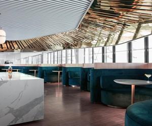 Business Class Lounge For Air France by Mathieu Lehanneur
