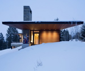 Butte Residence in Wyoming by Carney Logan Burke Architects