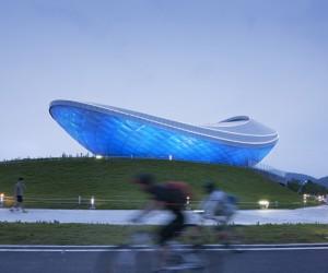 C River Culture Pavilion by Asymptote Architecture