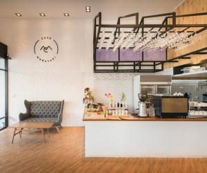 Cafe Murasaki Bangkok by Fatt Studio