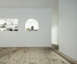 Cafe KBT Renovation by Jun Murata  JAM