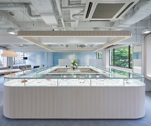 Cafe Ring Nakanosima by Naoya Matsumoto Design