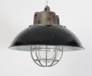 Caged Czech downlighters