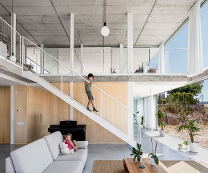 Calders House in Catalonia by narch