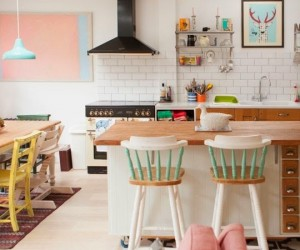 Candy Colored London Cottage
