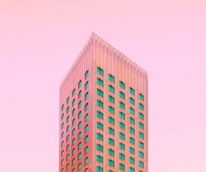 Candy Rotterdam: Minimalist and Colorful Architecture Photography by Simone Hutsch