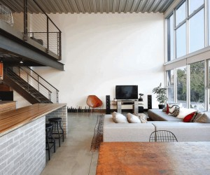 Capitol Hill Loft Remodeled by SHED Architecture  Design