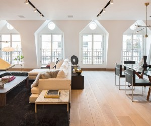 Captivating TriBeCa Penthouse with Three Terraces and Expansive Views