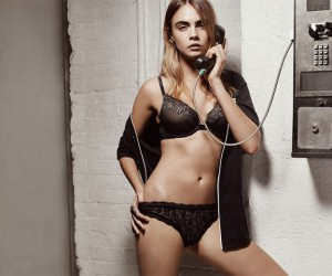 Cara Delevingne Stars in DKNYs 2015 Spring Campaign