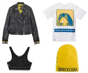 Cara Delevingne x DKNY Capsule Collection